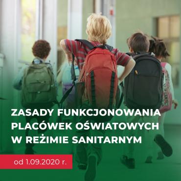 Przygotowania do otwarcia przedszkoli i szkół od 1 września 2020 roku